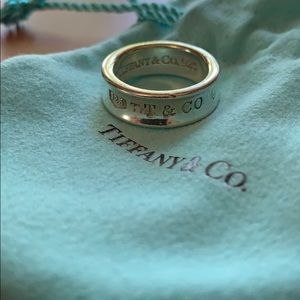 Tiffany & Co Signature sterling silver ring